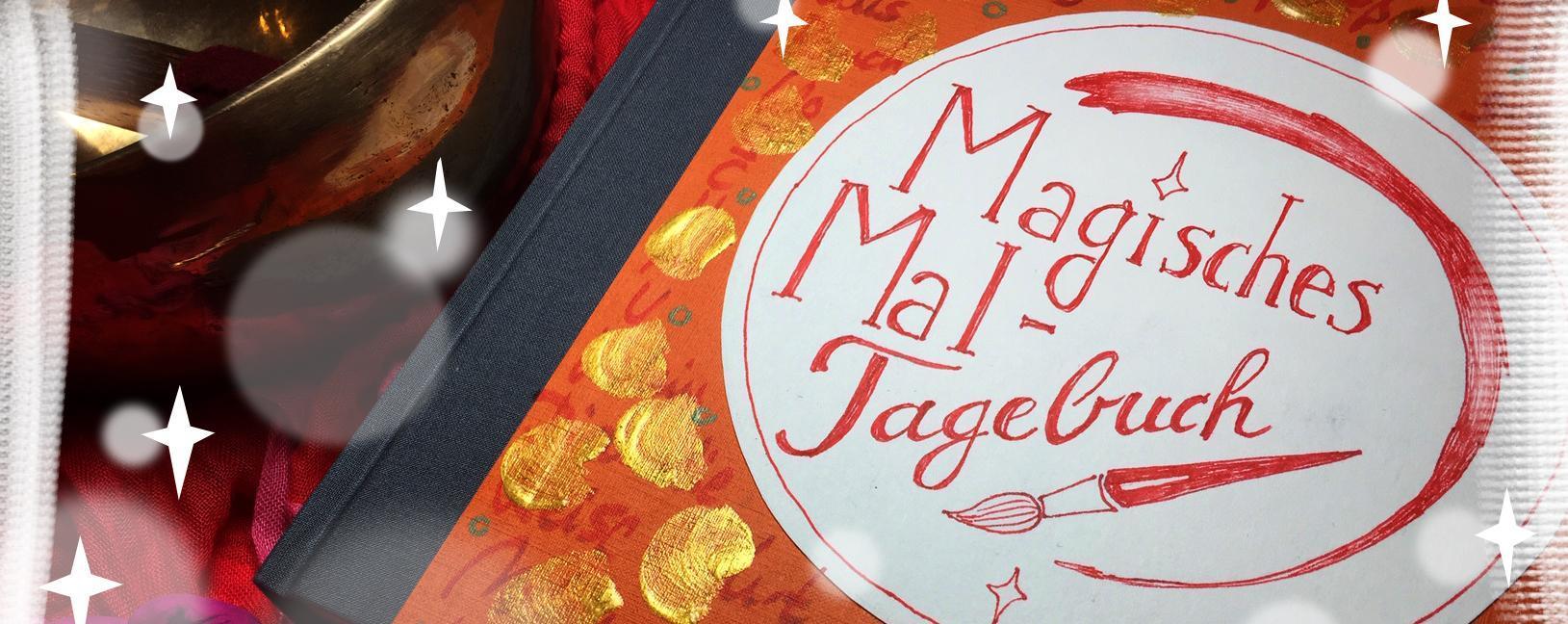 Magisches Maltagebuch Banner
