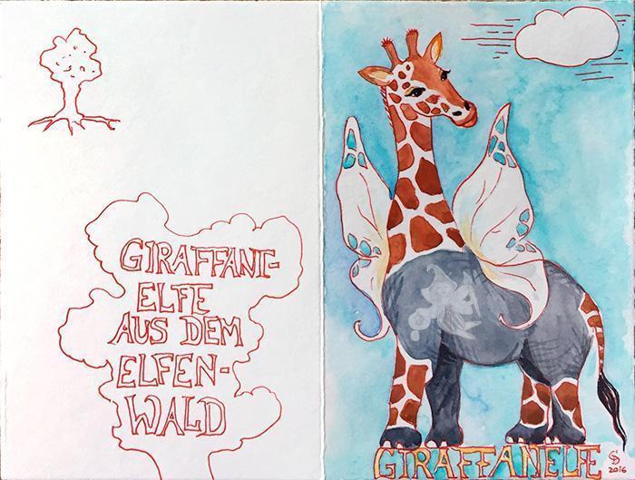 Coaching-Karte Giraffant